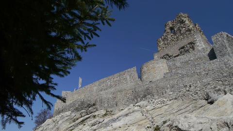 Castle in ruins Footage