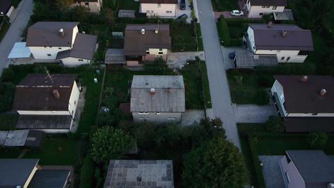 AERIAL: Suburbs Footage