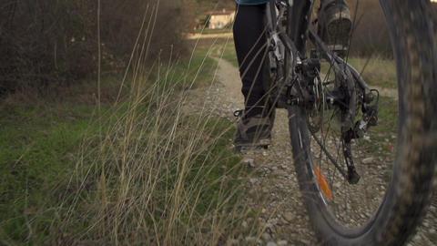 SLOW MOTION: bike riding Footage