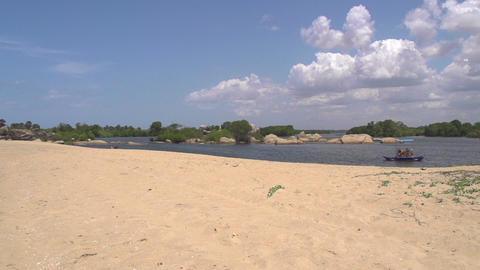 Exotic beach in Sri Lanka Footage