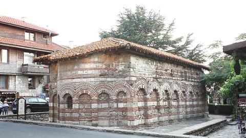 Old Church, Nessebar, Bulgaria Footage