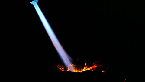 Volcano Eruption stock footage