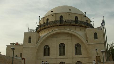 4K UHD The Hurva Synagogue, Jerusalem, Israel Footage