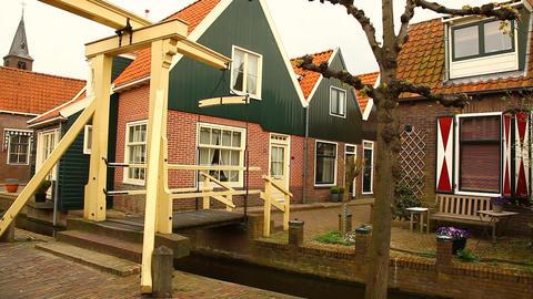 Fishermen's village Holland Footage