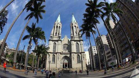 CATEDRAL DA Sᅢノ - Sao Paulo / Metropolitan Cat Footage