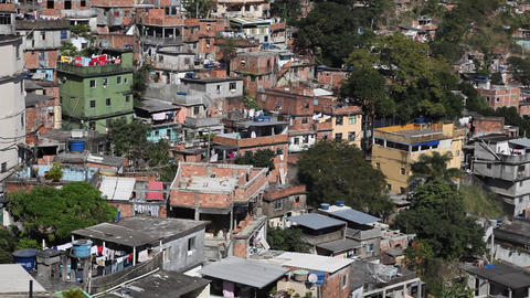 Favela Rocinha, Rio de Janeiro, Brazil FULL HD Footage