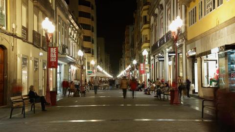 Las Palmas de Gran Canaria, Calle Mayor de Triana  Footage