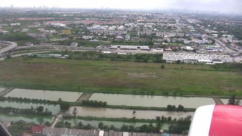 Landing in Bangkok Footage
