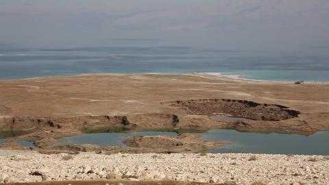 Dead Sea sinkholes Footage