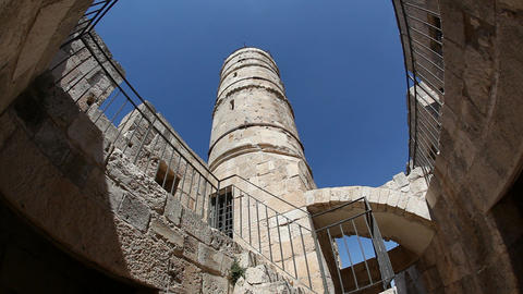 David tower, Jerusalem old city Footage