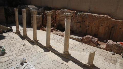 The Cardo, Jerusalem old city Footage
