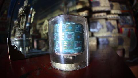 Prayer Wheels Erdene Zuu Monastery Mongolia Footage