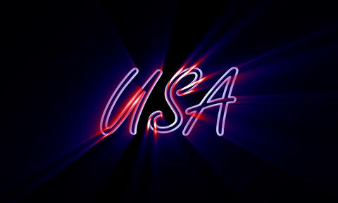 USA 1 stock footage