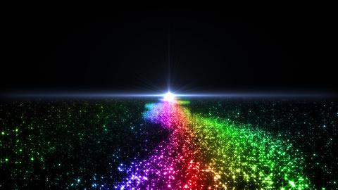 Space Stars milky way C 5ra 4k Animation