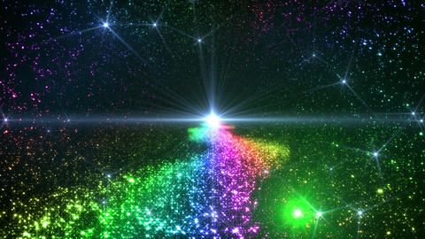 Space Stars milky way C 6raf 4k 動画素材, ムービー映像素材