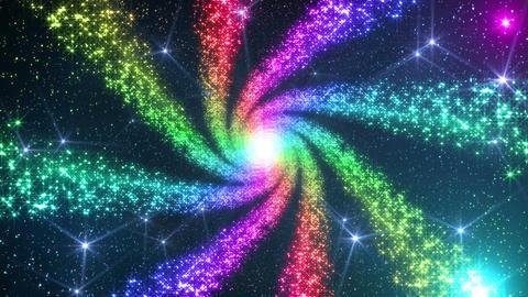 Space Stars milky way DF 7raf 4k Animation