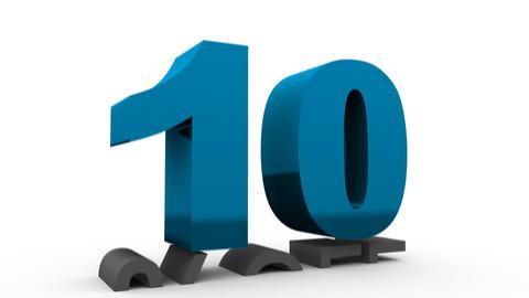 Ten Percent Off (10%off) Stock Video Footage