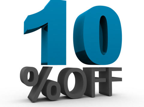 Ten Percent Off (10%off) Animation