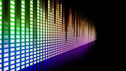 DJ Equalizer P1MN2 Stock Video Footage