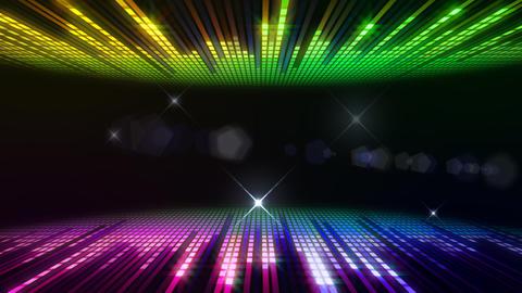 DJ Equalizer P4FF2 Stock Video Footage