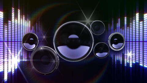 Speaker Equalizer P2FF2 Animation