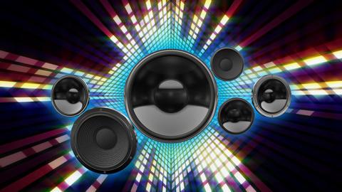 Speaker Equalizer SFF2 CG動画