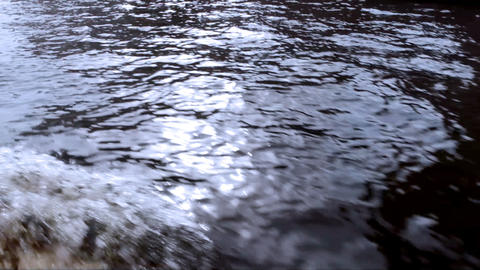 4321 Water Wave HD Stock Video Footage