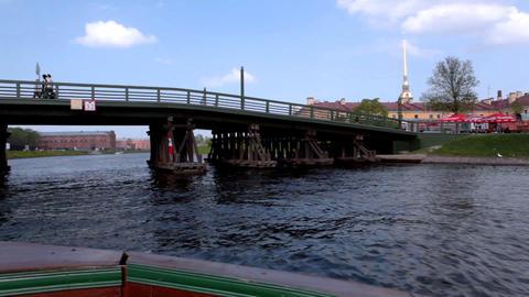 4331 Glide Under Bridge HD Stock Video Footage