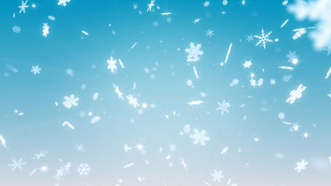 Snow Flake AM1 Stock Video Footage