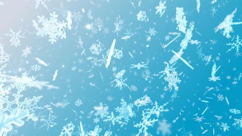 Snow Flake Dmix1 Stock Video Footage