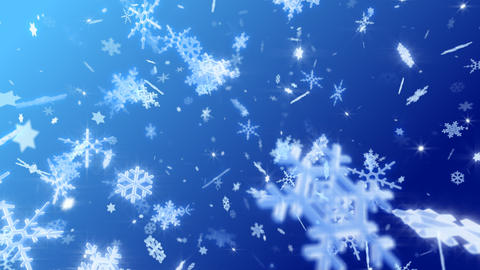Snow Flake DL2 Animation