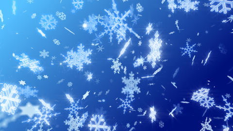 Snow Flake DL2 Stock Video Footage