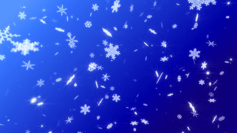 Snow Flake DM2 Stock Video Footage