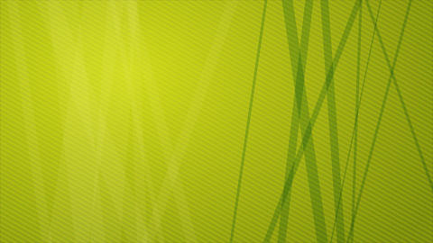 Abstract Geometric Green Background Animation