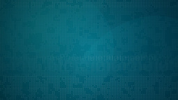 Digital blue background with data streams Animation