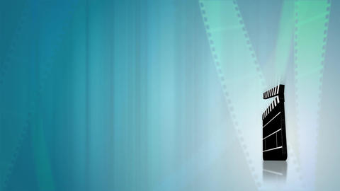 Film Reels HD Loop Stock Video Footage