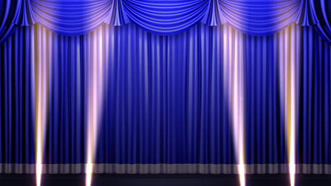 Stage Curtain 2 Fbs1 Animation
