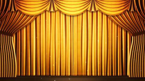Stage Curtain 2 Fg2 Animation