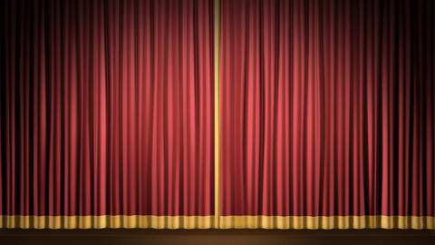Stage Curtain 2 Fr1 Animation