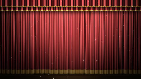 Stage Curtain 2 Fr2 Animation