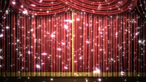 Stage Curtain 2 Frk1 Animation