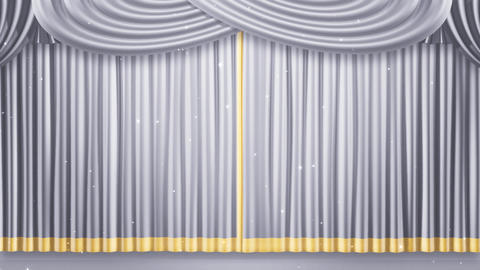 Stage Curtain 2 Fw1 Stock Video Footage