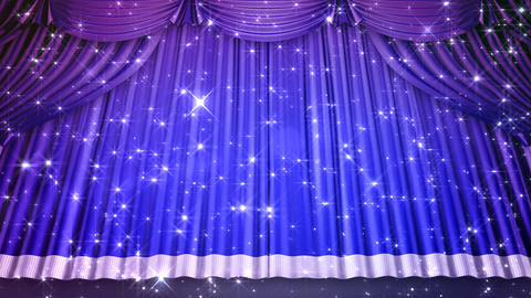 Stage Curtain 2 Ubk1 Stock Video Footage