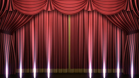 Stage Curtain 2 Frs2 Animation