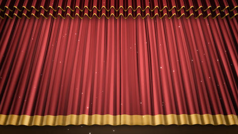Stage Curtain 2 Ur2 Animation