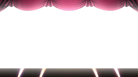 Stage Curtain 2 Urs1 Stock Video Footage