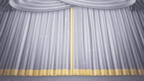 Stage Curtain 2 Uw1 Stock Video Footage