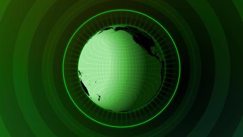 Revolving Globe Loop Stock Video Footage