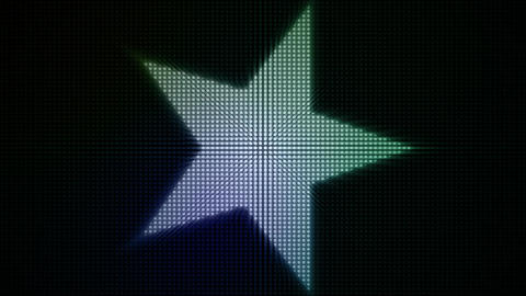 Dotty Stars Loop Stock Video Footage