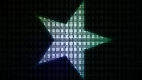 Dotty Stars Loop Stock Video Footage